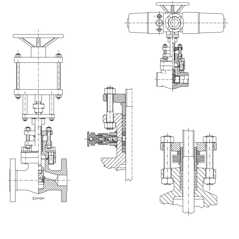 Gate Valves Special features